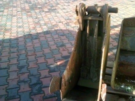 Podkopová lžíce s čistící klapkou 35 cm