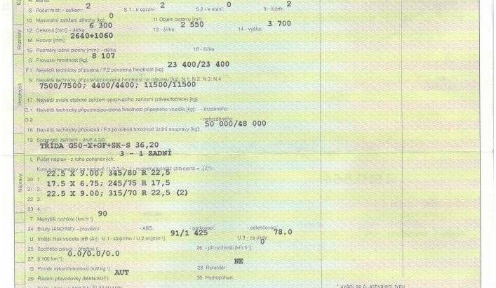DAF FTP XF 105.460 SC 6×2