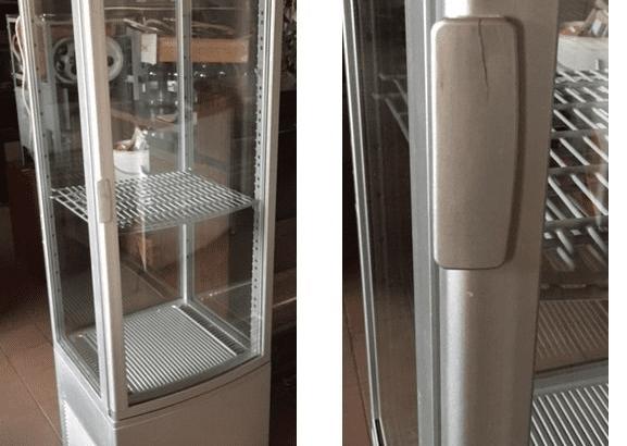 Chladící vitrína – rohová