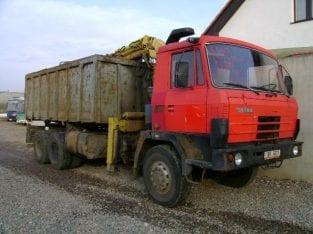 TATRA T815 kontejner
