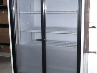 Chladící vitrína – prosklené dveře