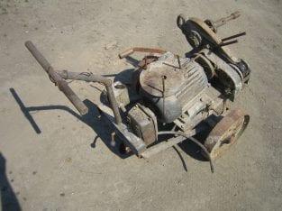 Zetor – startovací vozík s motorem